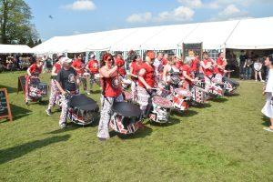 Batala Lancaster at Kirkby Lonsdale Beer & Music Festival