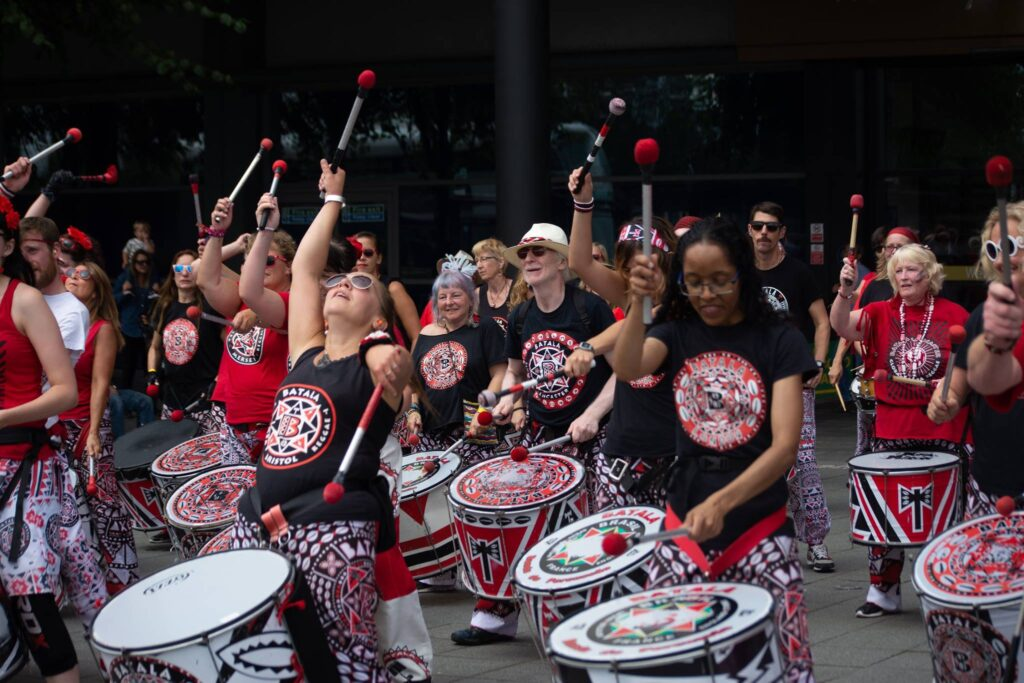 Batala Mundo at Edinburgh Fringe