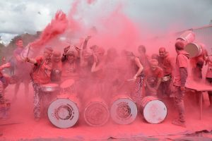 Batala Lancaster at Kendal Colour Dash