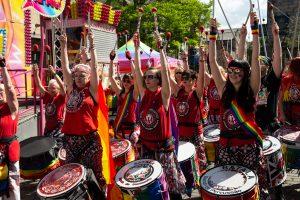 Batala Lancaster at Lancaster Pride